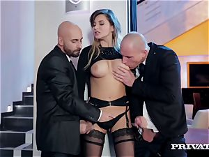 pointy tit Anna Polina Gets Some raunchy dp