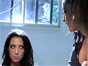 Bad doll Capri Cavanni gets disciplined by Dani Daniels