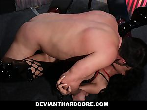 DeviantHardcore - Latina cougar predominated