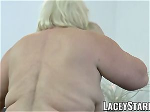 LACEYSTARR - grandmother rectally creampied with bbc