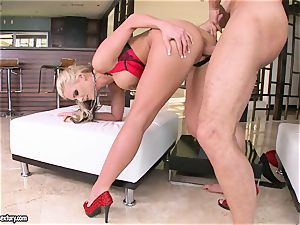 huge-chested Phoenix Marie luvs getting her cooch romped