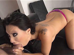 Asa Akira likes both fuckholes getting tucked