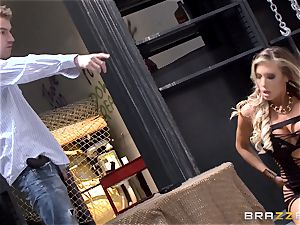 splendid cop Samantha Saint caught banging the public