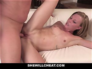 SheWillCheat - Squirty wifey Gets Slayed By Internet fellow