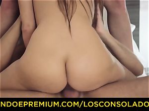 LOS CONSOLADORES - lovely honey bare massage and threeway