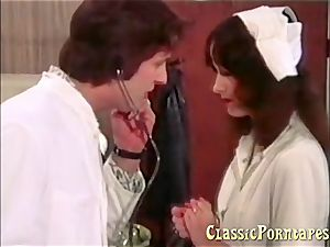 ultra-kinky doctor screws her patient and her nurse