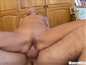 blondie Stepmom opening up For Her kinky Stepson