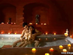 sensuous Indian duo lovers From India