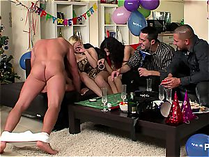 new Year's Eve intercourse soiree sequence two