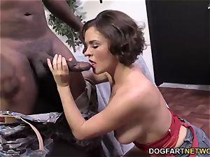 Krissy Lynn Having raunchy interracial buttfuck orgy