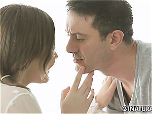 Tina Kay in a sensuous duo lovemaking that is female friendly