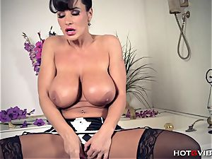 meaty, Soapy bumpers cougar Lisa Ann