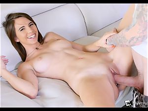 CeCe Capella attempts assfuck for the very first time