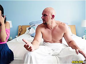 stepfather caught watching pornography by her step-daughter Kiley Jay