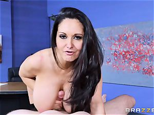 Ava Addams torn up in her wet beaver