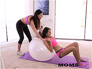 Moms teach fuck-a-thon - cool mother swaps jism with daughter