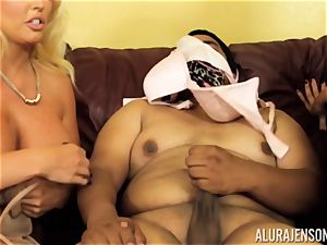Alura Jenson gets a bit crazy and embarks to smack
