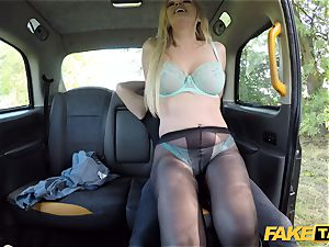 faux taxi brit blonde beauty Amber Jayne