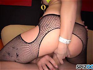 sloppy stripper Dahlia Sky 69ing