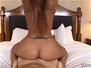 steamy Latina unexperienced milf first timer