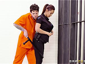 Don't droplet the soap in Brazzers prison