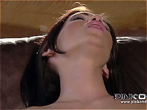 PINKO HD Mya and her tight pink twat