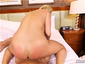 super-steamy Swedish blonde pounds two meaty cocks