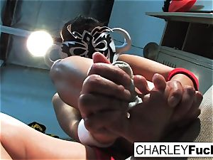 Charley Lucha Libre foot Fetish
