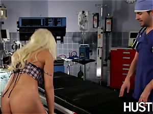 fantastic Britney Amber ravaged during doctors examination