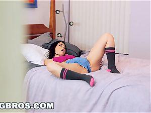 BANGBROS - Valentina Nappi tears up a teenager buck