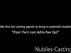 Piper Perri casts very first time xxx for lil' nubile