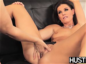 unbelievable Julia Ann gash toyed roughly by buxom dyke