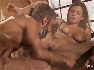 beautiful Keisha Grey bangs a immense pillar