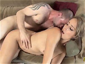 seductive Ella Milano gets her humid puss banged