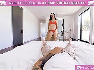 VR pornography - buxom Abella Danger casting couch get crazy