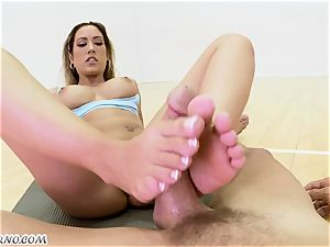 mind-blowing woman Capri Cavanni on a enormous weenie