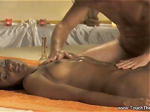 An Advance fingerblasting and assets massage