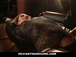 DeviantHardcore - bootylicious chinese Gets snatch Electroshocked