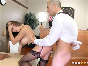 Peta Jensen caught wanking before a huge beef whistle smashing
