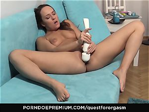 QUEST FOR orgasm - killer Blue Angel solo getting off