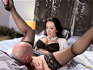 gorgeous wifey Jayden Jaymes torn up by her super hot spouse