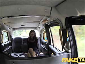 faux cab Posh gals engorged labia and backside screwed