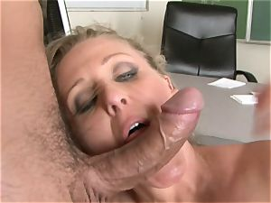 Julia Ann is a hard-core cougar who wants to put her pussy on a hard schlong