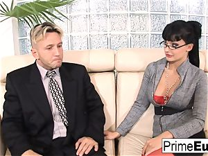 Aletta Ocean gets rectally romped on the bed