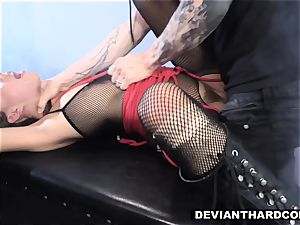 DeviantHardcore - Waterboarding nubile With fuck-stick