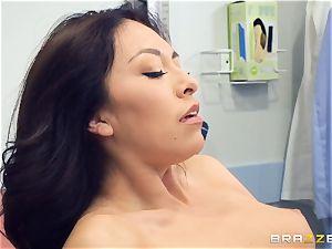 Kara faux medical cunt check up