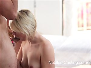 Nubiles audition - internal ejaculation cutie wants to be a porn industry star