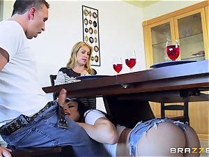 Keiran Lee manmeat stuffing Aidra Fox
