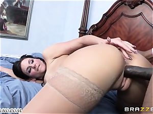 Phoenix Marie is ready to take a giant ebony rod in her vag
