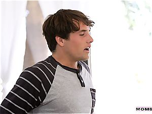 Brandi seduces her stepson